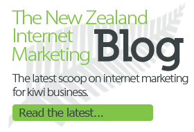 New Zealand Internet Marketing Blog. The latest scoop on internet marketing for kiwi business.