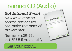 Training CD (Audio). Get Internet Smart; How New Zealand service businesses can make the most of the internet.